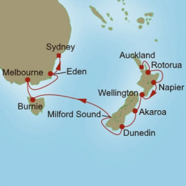 Splendors Down Under Oceania Cruises Cruise