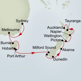 Australia and New Zealand Holland America Line Cruise