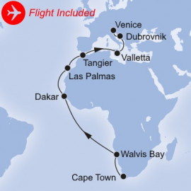 Grand Voyages Fly and Land Itinerary