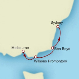 Melbourne to Sydney Cruise
