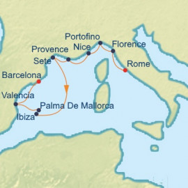 Riviera and Mediterranean Celebrity Cruises Cruise