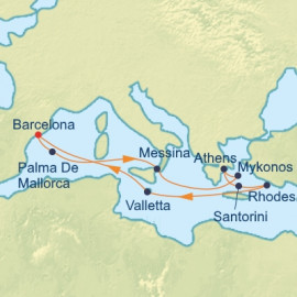 Italy and Greek Isles Itinerary