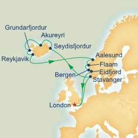 Iceland and Norway Itinerary