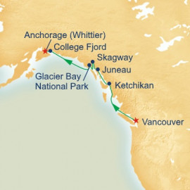 Voyage of the Glaciers Itinerary