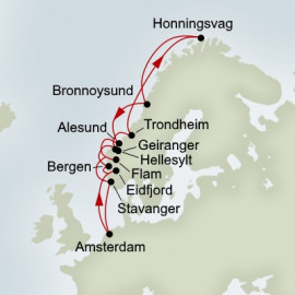 Voyage Of The Midnight Sun Itinerary