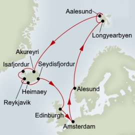 Spitsbergen and Arctic Circle Explorer Itinerary