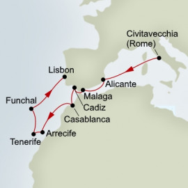 Casablanca and Canary Islands Explorer Itinerary