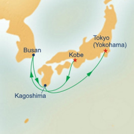 Korea and Japan Getaway Princess Cruises Cruise