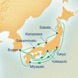 Sea of Japan Explorer Itinerary