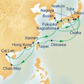 Southeast Asia and Japan Itinerary