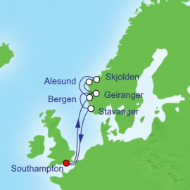 Europe North Itinerary