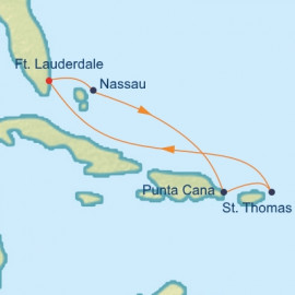 West Caribbean Itinerary