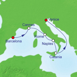 Barcelona To Venice Royal Caribbean Cruise