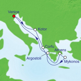 Greek Isles Itinerary