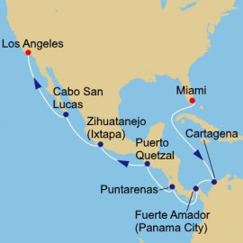 Panama Canal and Central America Itinerary