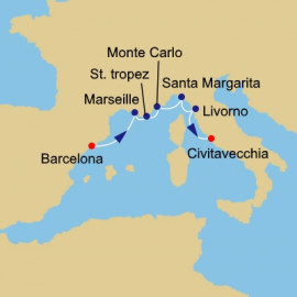 Spain France and Italy Azamara Club Cruises Cruise