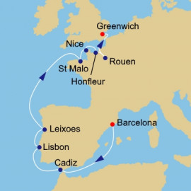 Tall Sails And Remembrance Itinerary