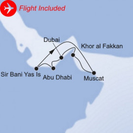 Arabian Highlights Fly Itinerary