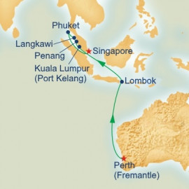 Treasures of Southeast Asia Princess Cruises Cruise
