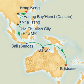 Asia and Australia Itinerary