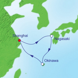 Nagasaki and Okinawa  Itinerary