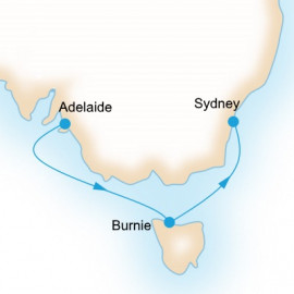 One way to Sydney Itinerary