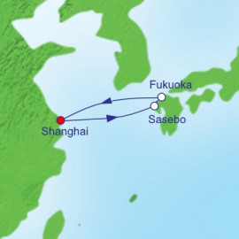 Sasaebo and Fukuoka  Itinerary