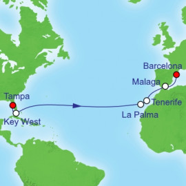 Florida To Spain Itinerary