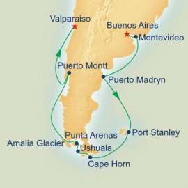 Cape Horn and Strait of Magellan Princess Cruises Cruise