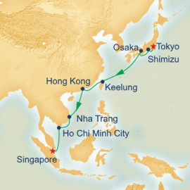 Southeast Asia and Japan Princess Cruises Cruise