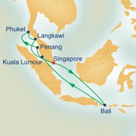 Malaysian Peninsula and Indonesia Princess Cruises Cruise