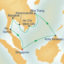 Southeast Asia Itinerary