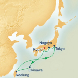 Japan and Taiwan Itinerary