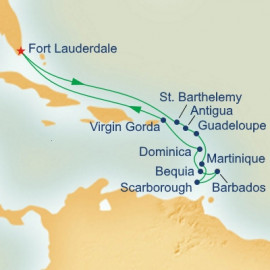 Caribbean Connoisseur Itinerary