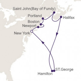 Canada and New England Regent Seven Seas Cruises Cruise