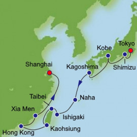 Japan and China from Tokyo Norwegian Cruise Line Cruise