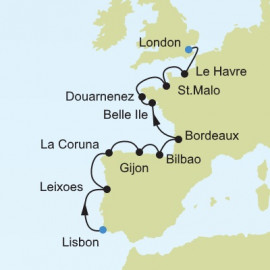 Lisbon to London Itinerary