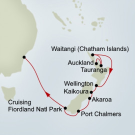 New Zealand Panorama   Itinerary