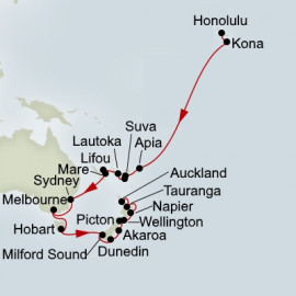 South Pacific Australia and New Zealand Collector Itinerary
