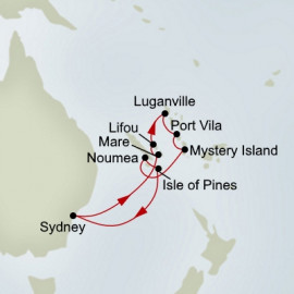 Pacific Treasures Holiday Itinerary