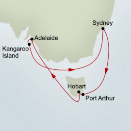South Australia Discovery Holland America Line Cruise