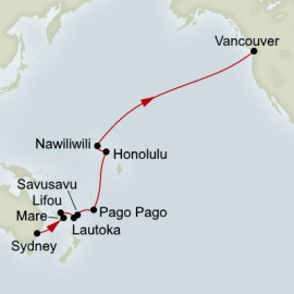 South Pacific Crossing Holland America Line Cruise