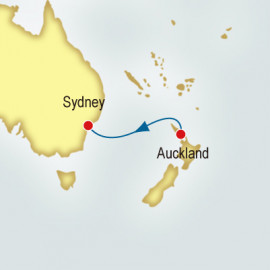 Auckland to Sydney World Sector P&O Cruises UK Cruise