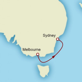 Melbourne to Sydney World Sector Cruise