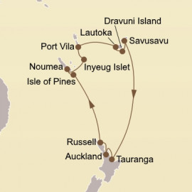 South Pacific Isles Itinerary