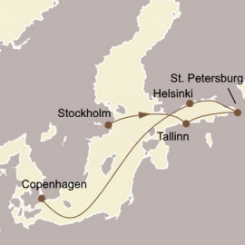 St Petersburg and The Baltic Itinerary