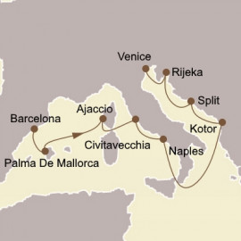 Italy and Adriatic Gems  Itinerary