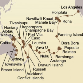 South Pacific Exploration Itinerary