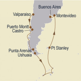 Ultimate Antarctica and Patagonia Itinerary