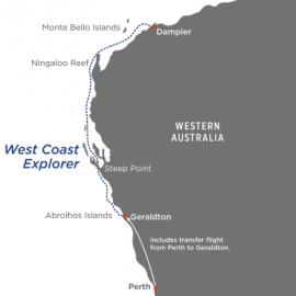 West Coast Explorer North Star Cruises Australia Cruise